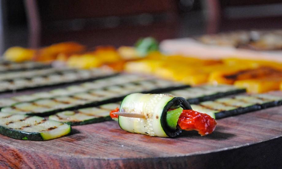 zucchini roll italian antipasti