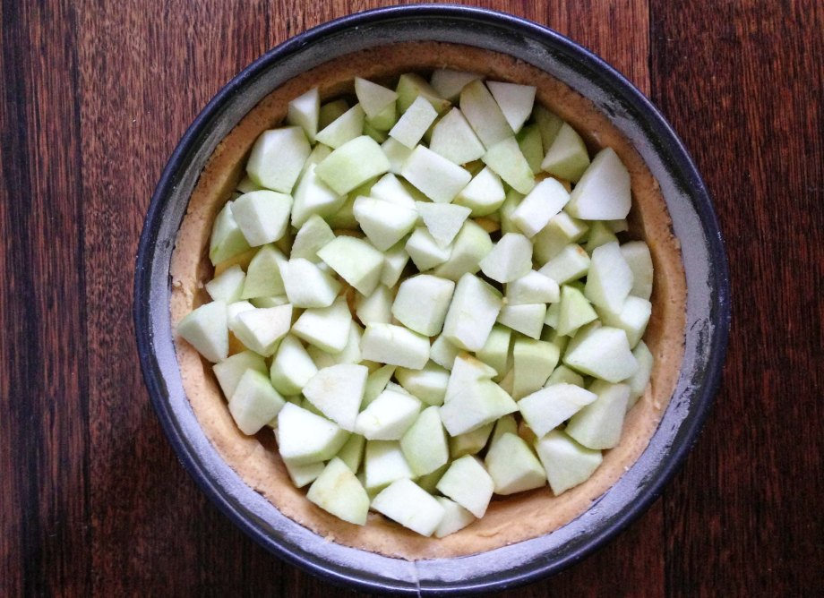 apple cake without crumb top