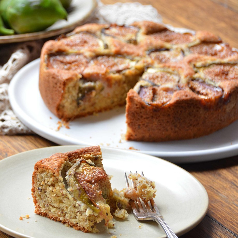 slice of rustic fig and hazelnut cake-italy on my mind_square