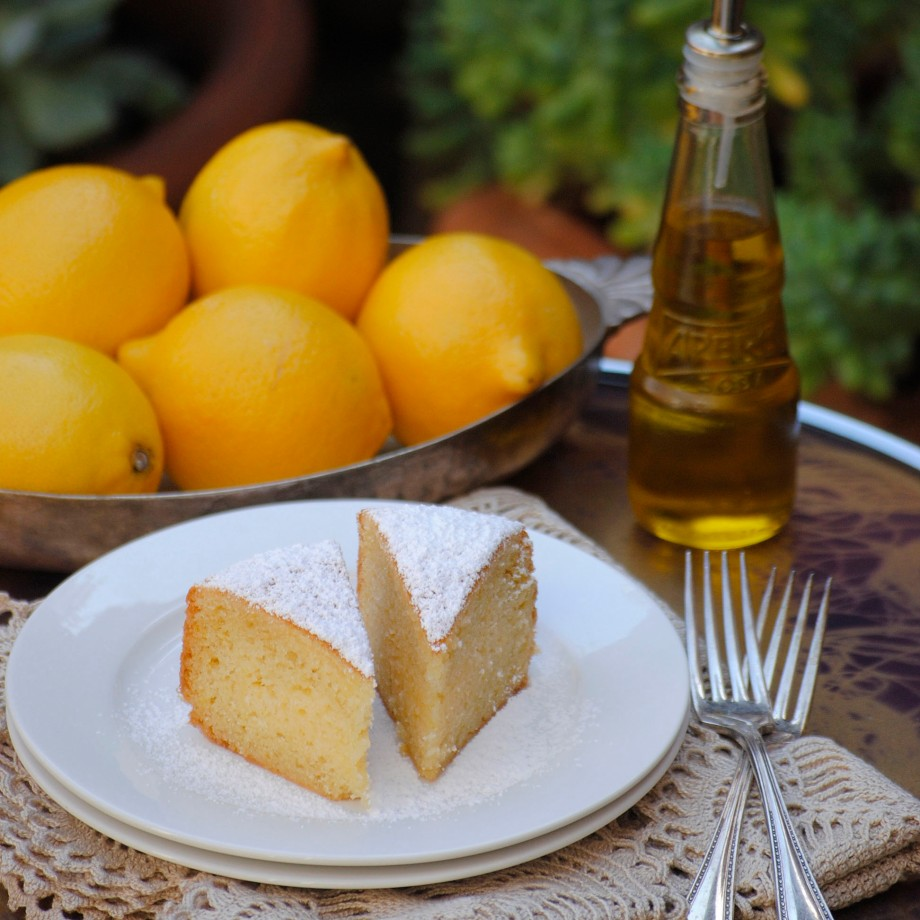 3- lemon olive oil cake