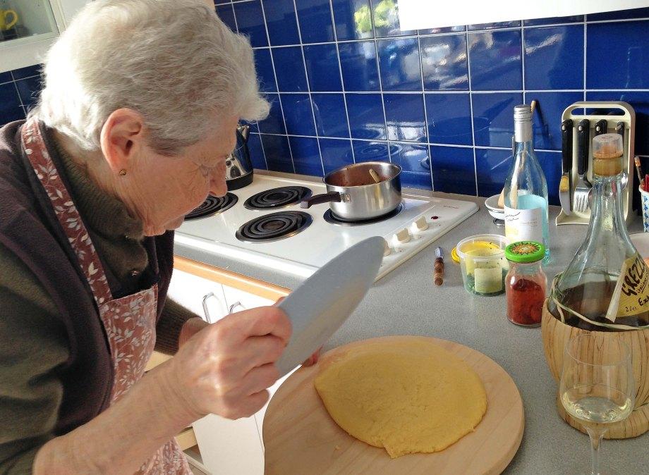 mamma with polenta