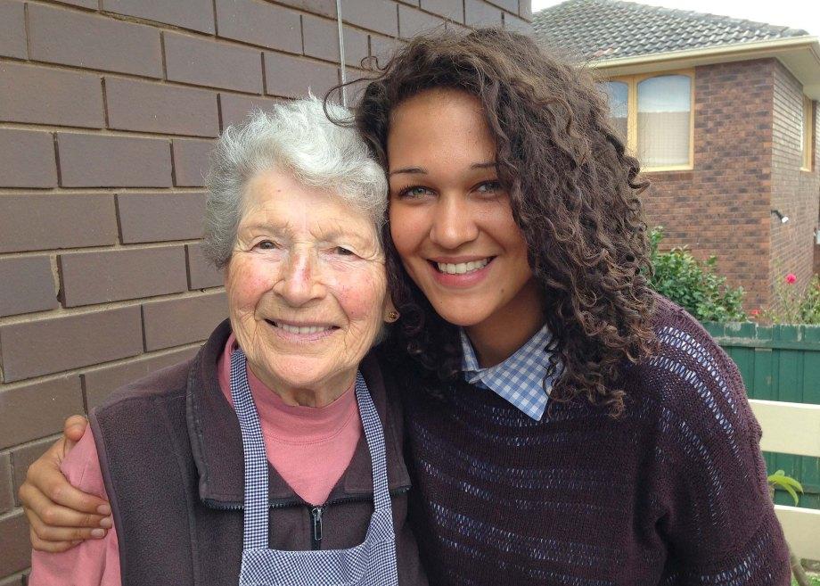 Tamara and her nonna
