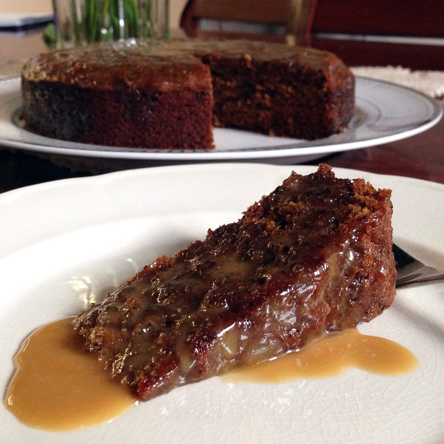 Date pudding