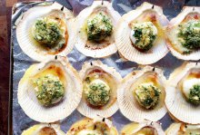 scallops on the shell-italy on my mind