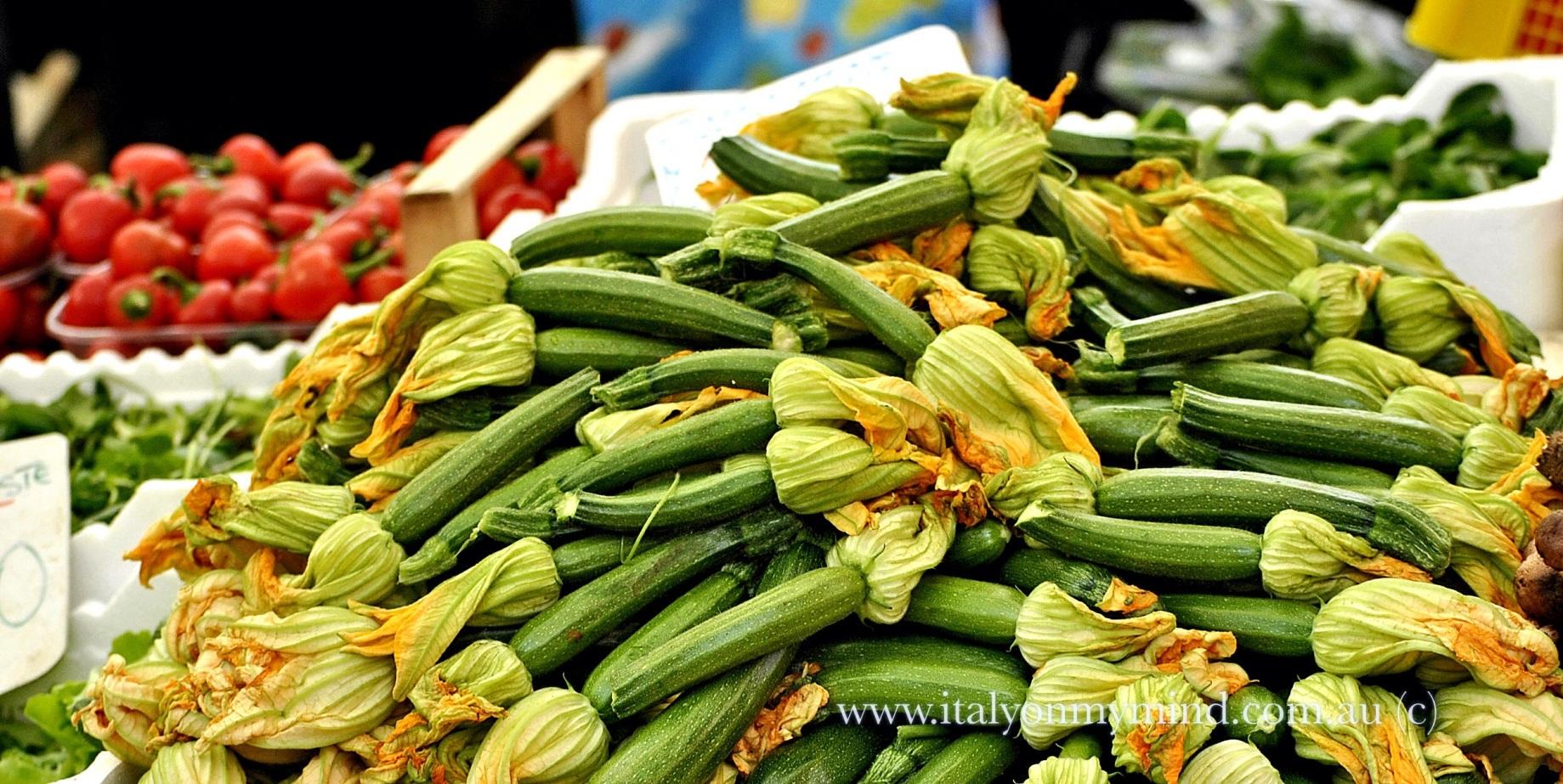 zucchini in venezia