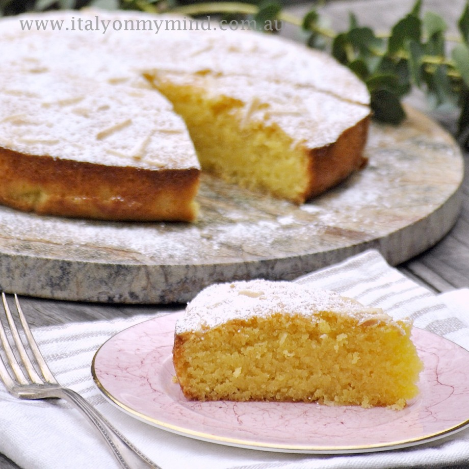 almond and coconut cake gluten free-italy on my mind