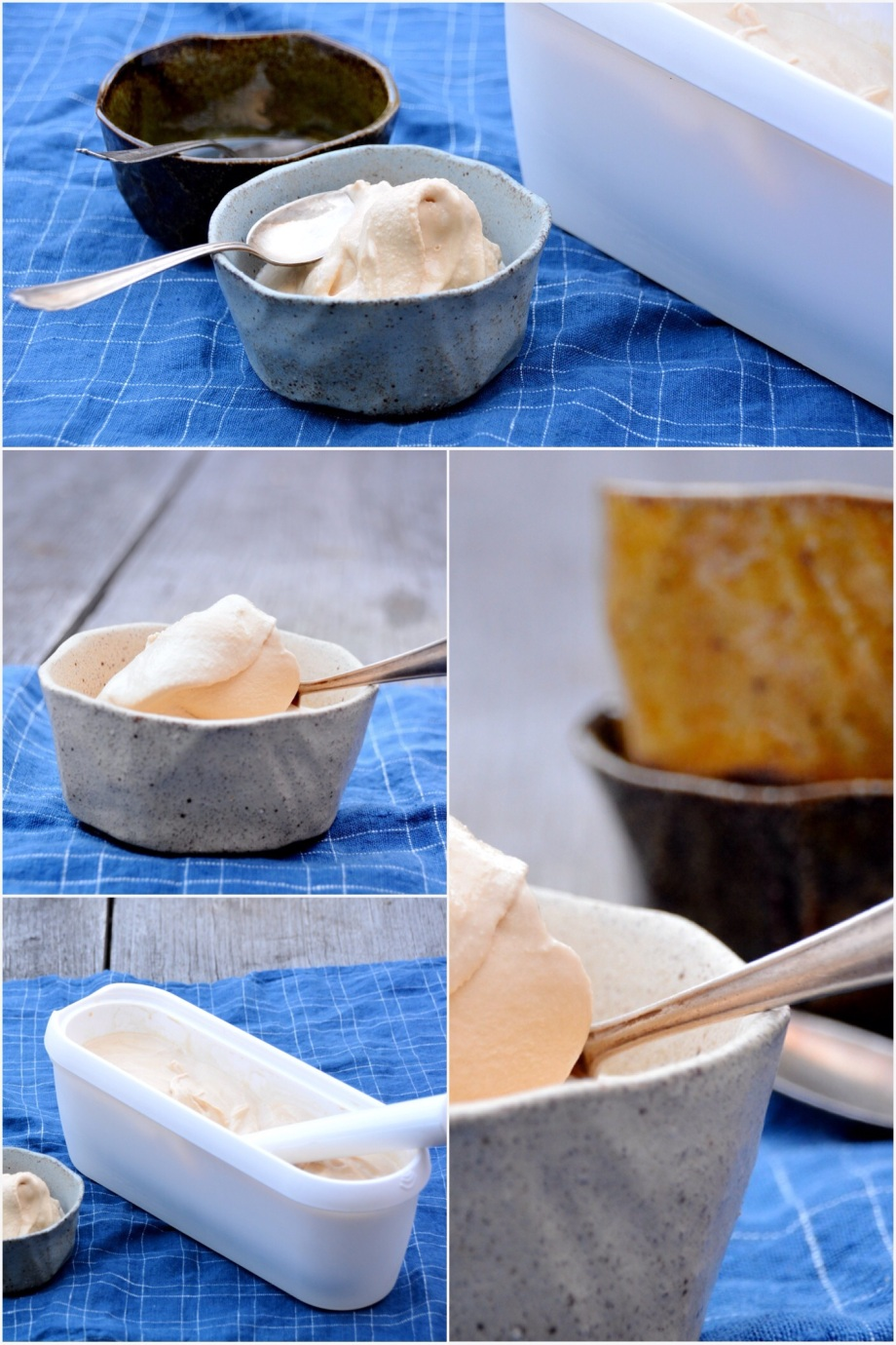 Italy on my mind-dulce de leche ice cream gelato