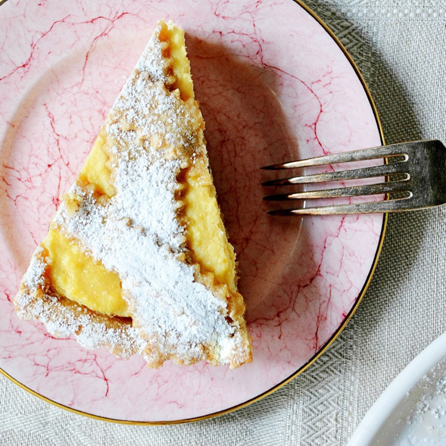 ricotta crostata-italy on my mind